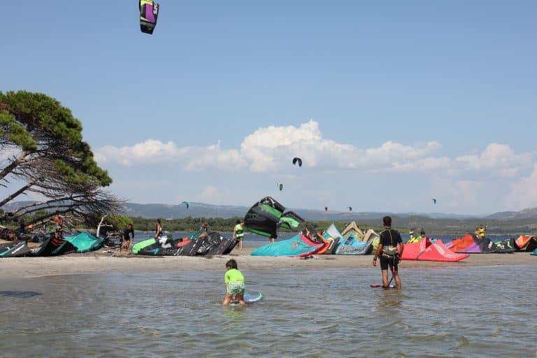 Punta Trettu Kitesurf Spot Courses
