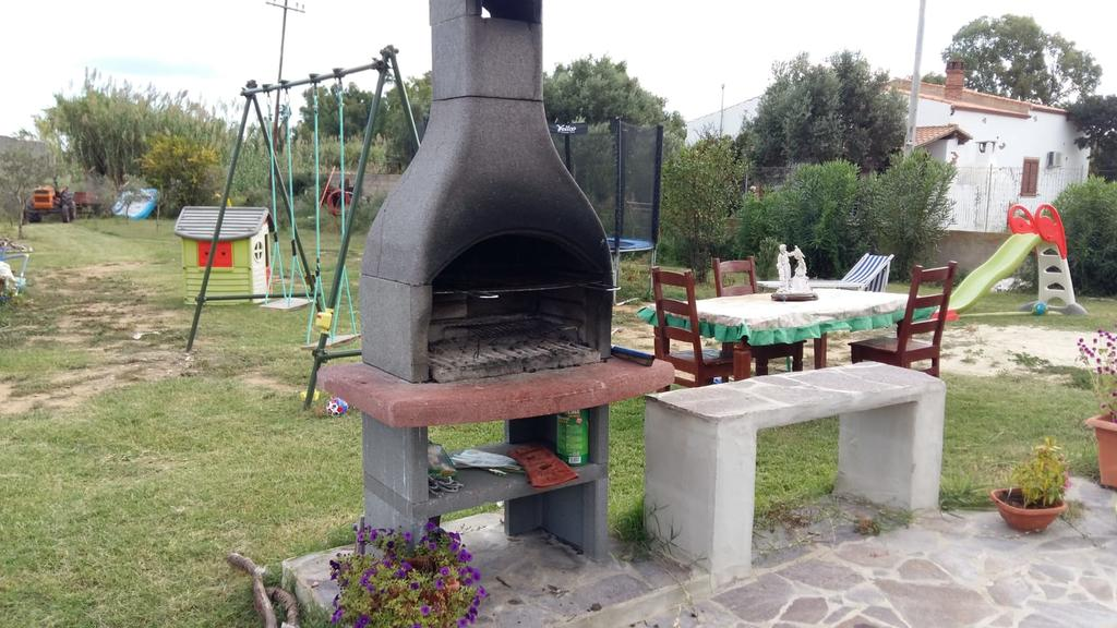 E' a disposizione nella casa vacanza un barbecue