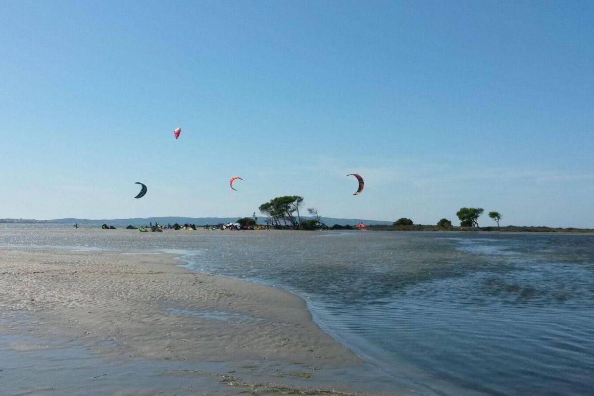 Punta Trettu kitesurf spot 2019