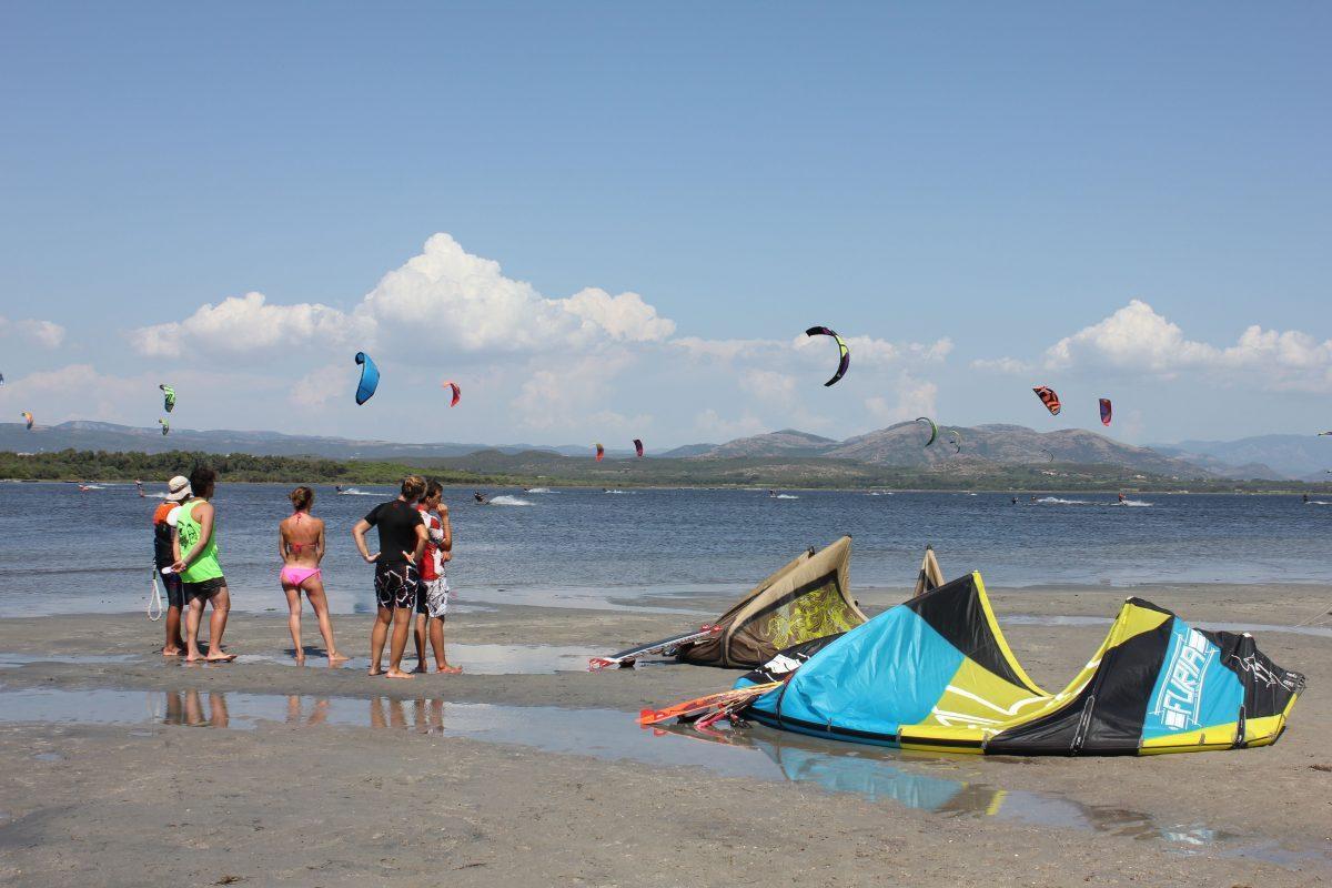 Punta Trettu Beginner Kitesurf Spot View